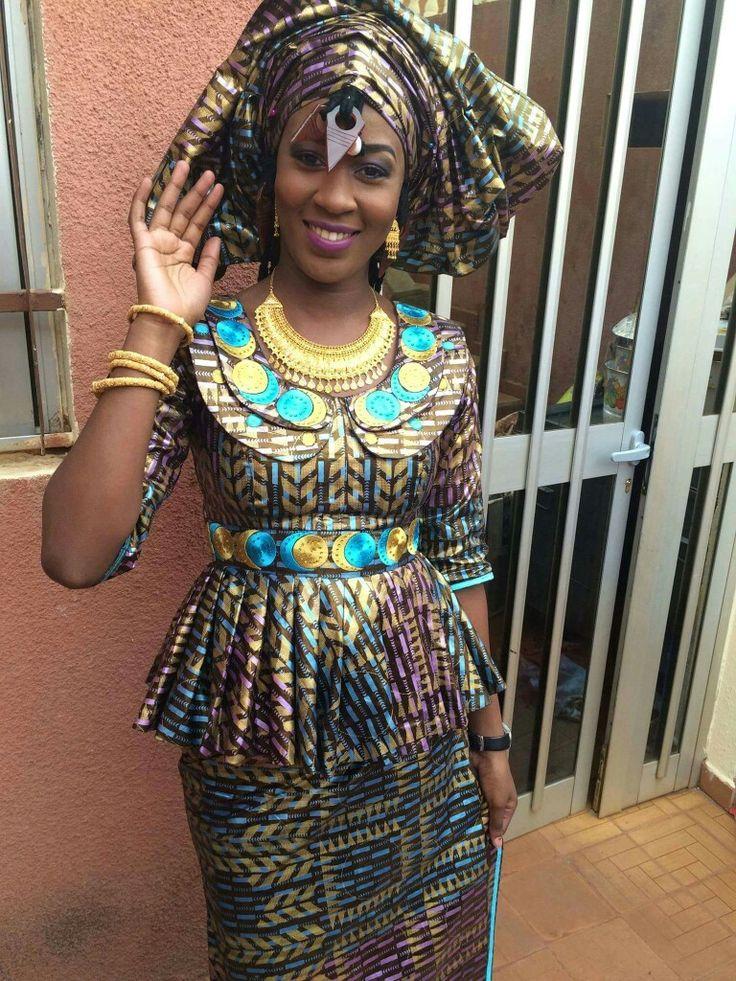 Malian Fashion bazin ~DKK ~ Latest African fashion Ankara kitenge African women dresses ...