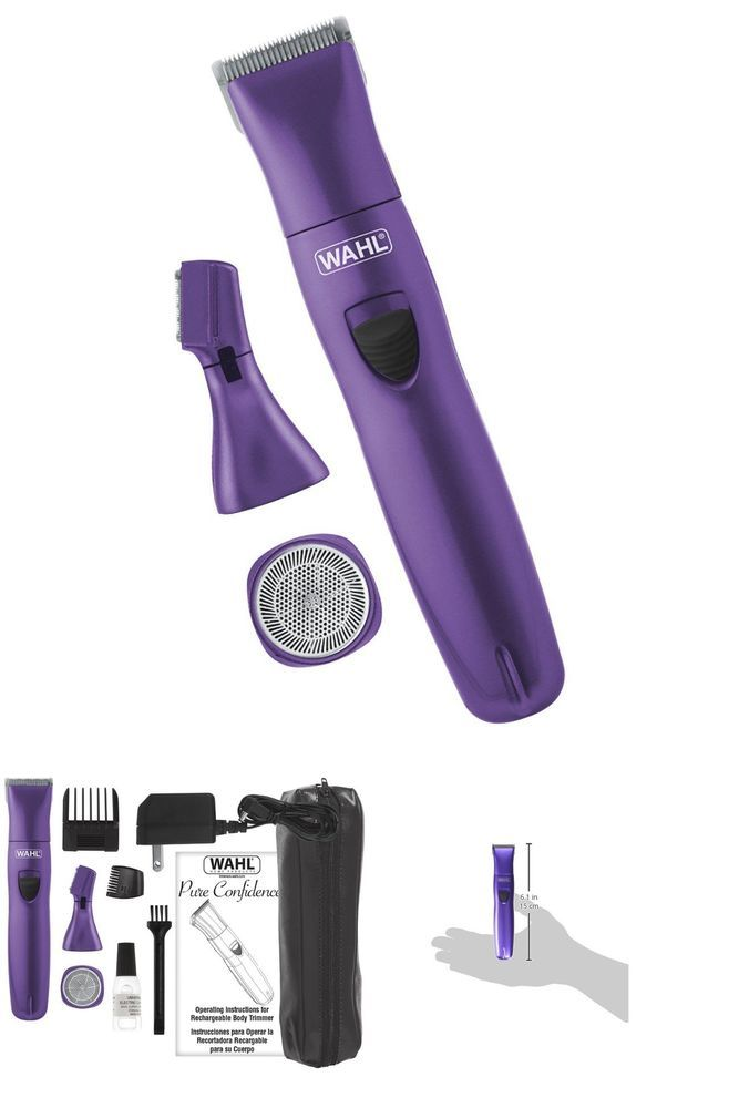 Ladies Trimmer Personal Hair Womens Clippers Bikini Shaver Female Groomer Facial #Wahl