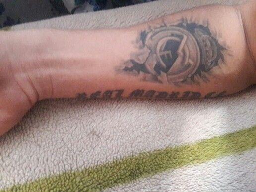 Real Madrid c.f tattoo