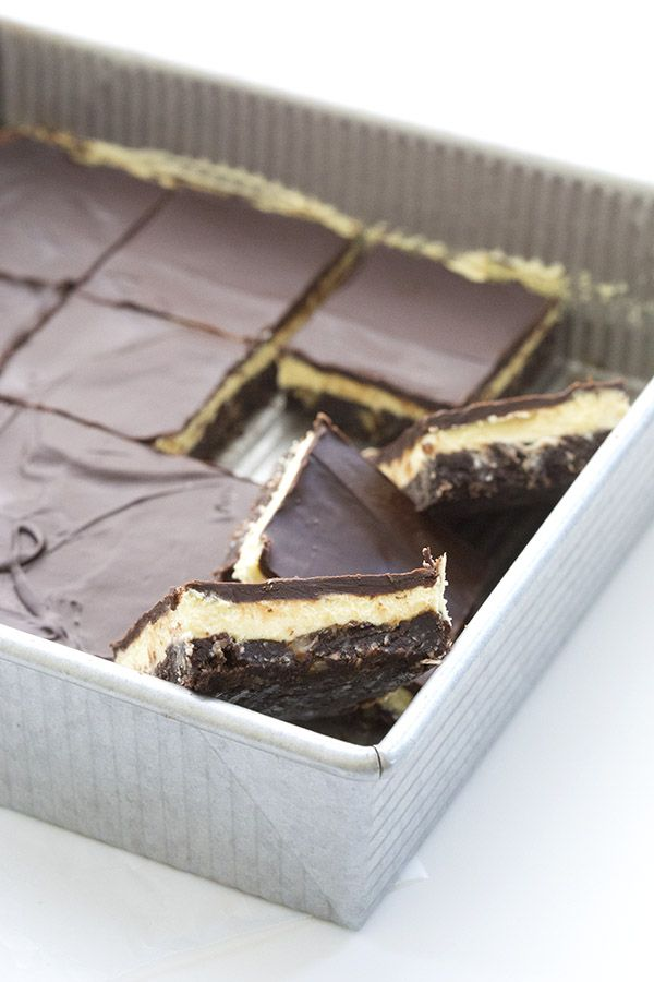 lactose free  info also Best low carb Nanaimo Bar recipe