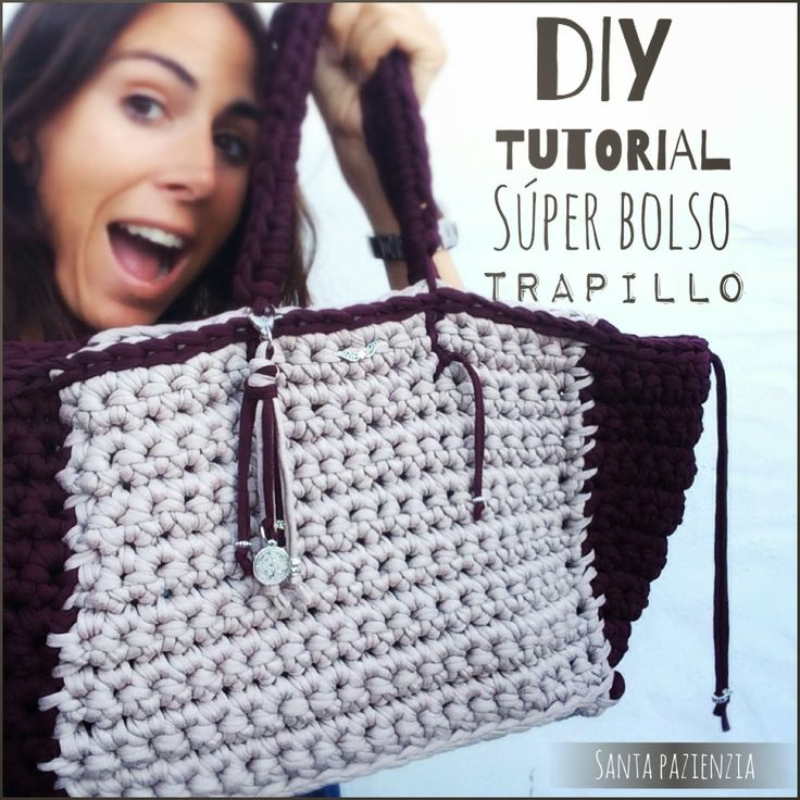 1279 best images about bolsos trapillo on pinterest see - Como hacer bolsos ...