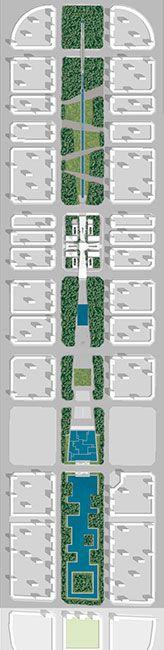 Central Park Hunnan Axis by NRLVV. Main_Axis_Hunnan_Shenyang-16 « Landscape Architecture Works | Landezine
