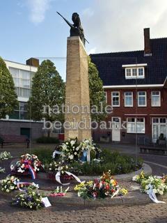 2, het verzetsmonument. het monument voor  het verzet in de tweede wereld oorlog