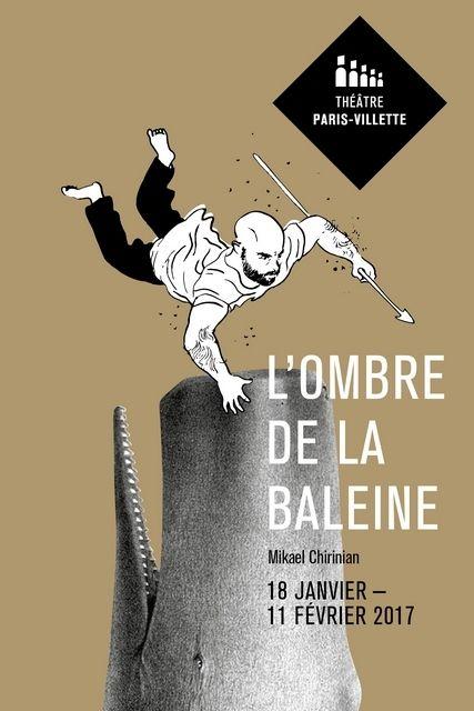 """Mikaël CHIRINIAN, pour son troisième Seul en Scène, avec sa co-auteure OCEANEROSEMARIE, dont il avait fait la Mise en Scène de son spectacle """"Chatons Violents"""", s'inspire de Moby Dick, d'Herman MELVILLE, pour nous raconter l'histoire de sa famille. """"En..."""