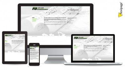 Häfliger Baumanagement GmbH, Oftringen, Flexipage, Responsive Webdesign, Internetauftritt