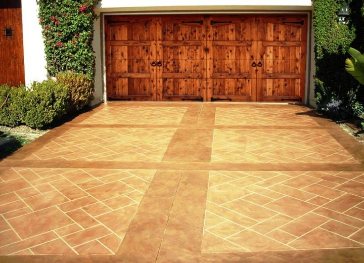 90 best STAMPED & STAINED CONCRETE images on Pinterest | Retaining ...