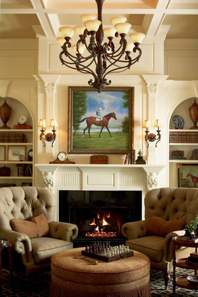 a very traditional fireplace and decor more more fireplace living roomscozy