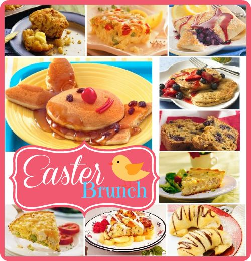 10 Easter Brunch Recipes Easter Pinterest 10