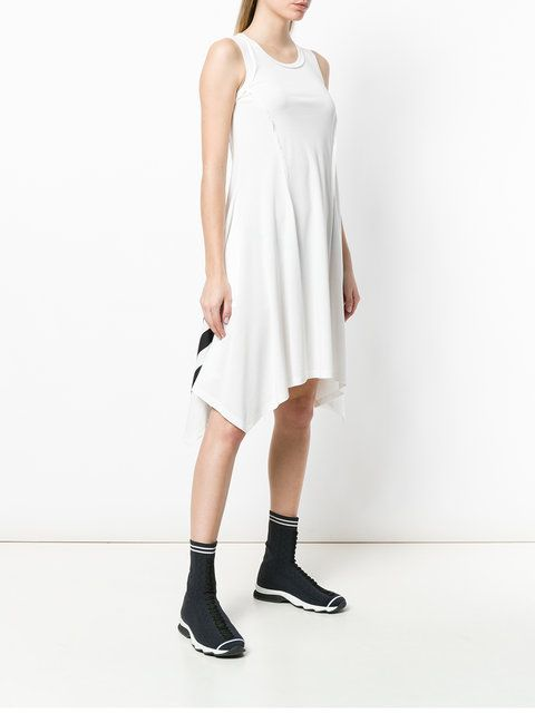a8f91963f4e Y-3 Handkerchief Hem Sporty Dress - Farfetch | To buy list 2018 | Dresses,  Sporty, Women
