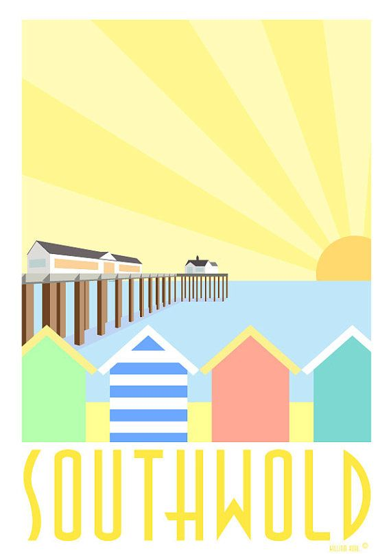 Southwold Print by WilliamKuhl on Etsy, £20.00