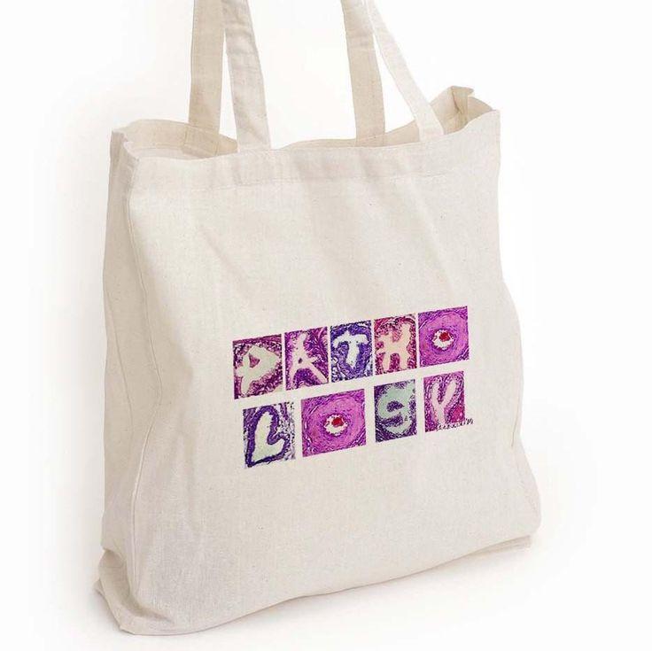 Pathology tote bag, med lab week gift