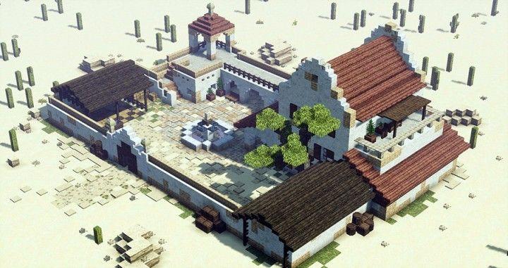 Mexican Hacjenda – Minecraft Building Inc
