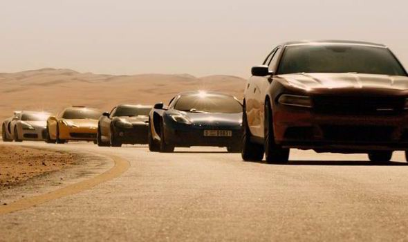2015 DODGE CHARGER Leading the pack through the desert road sequence in Dubai will be the 2015 Dodge Charger.