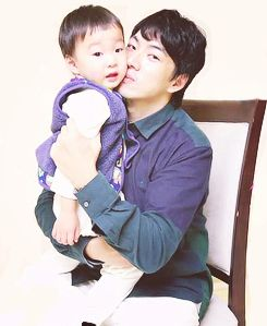 Daehan with appa | The Return of Superman