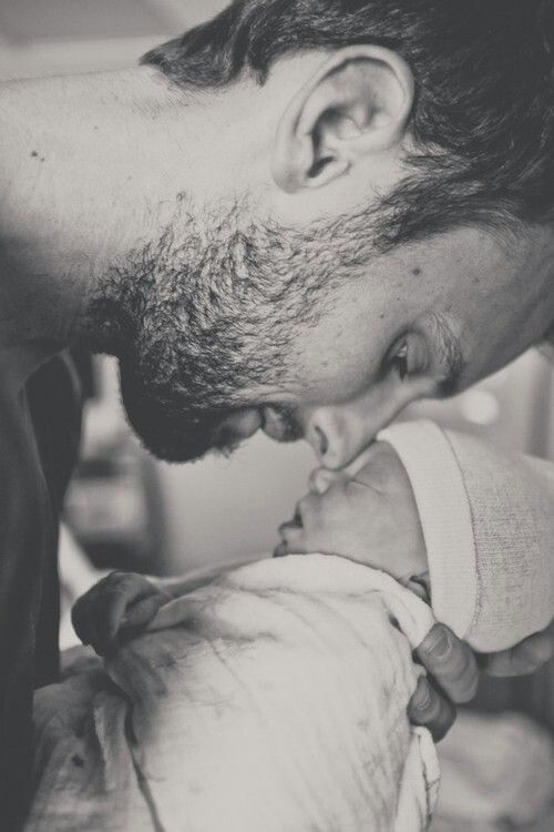 Daddy love - Baby photography
