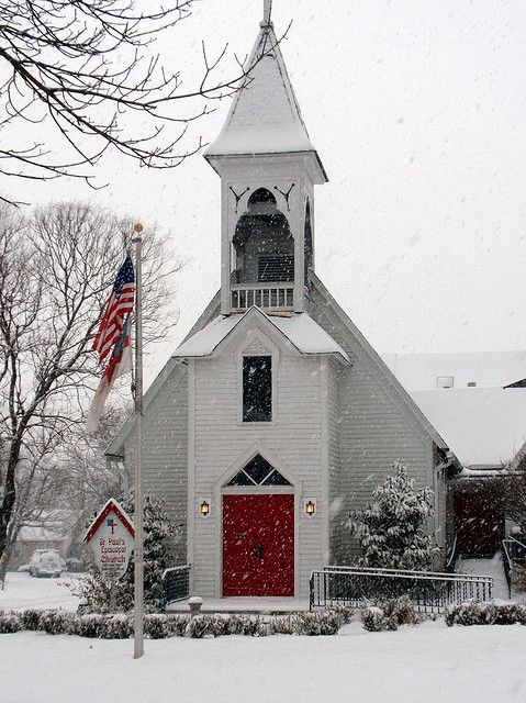 St. Paul's Episcopal Church is a historic Carpenter Gothic church located in Lee's Summit, Missouri, United States. The parish was established in 1867