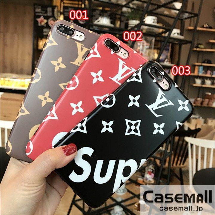 LV Supreme iPhone7PLUSケース ペア