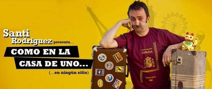 Santi Rodríguez presenta en Santiago: Como en la casa de uno... en ningún sitio. Ocio en Galicia | Ocio en Santiago. Agenda actividades. Cine, conciertos, espectaculos
