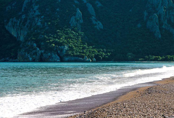 Still unspoiled beach in Çıralı.