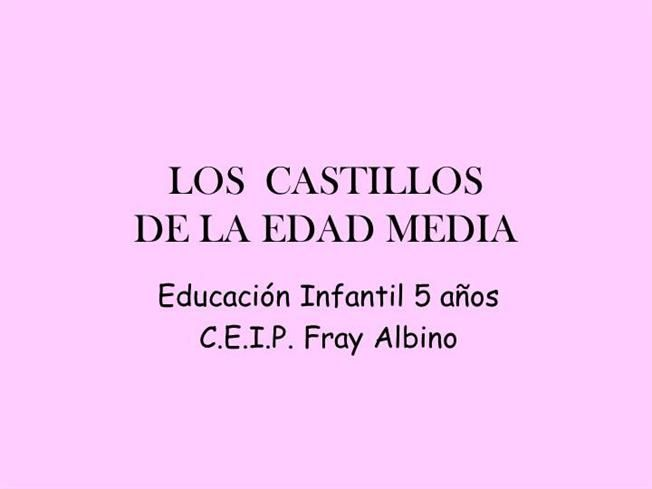 LOS  CASTILLOS by Myriam8250 via authorSTREAM