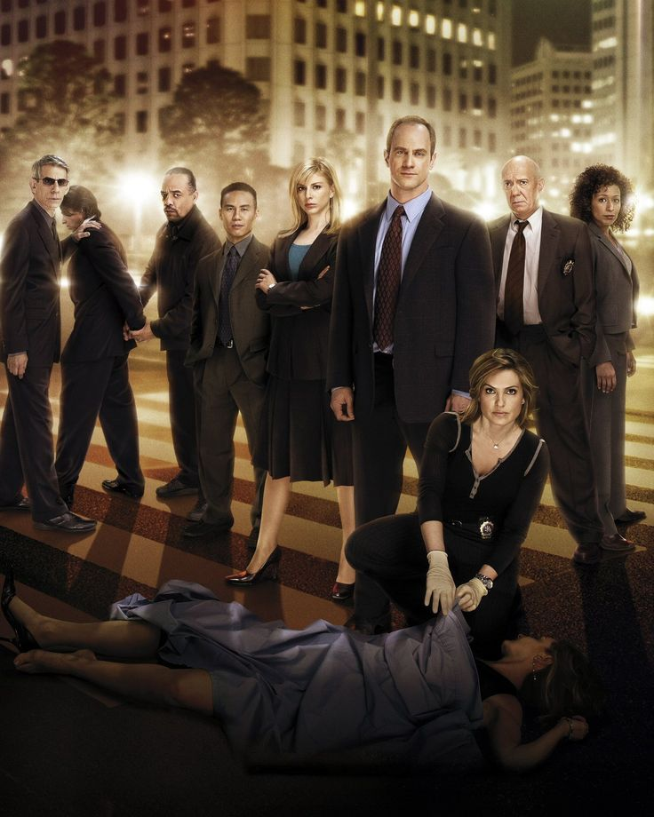 law and order svu. that is my show.