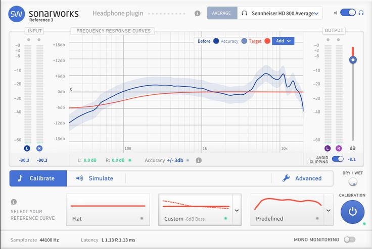 Sonarworks Reference 3 Headphone plugin is to be used with our model average headphone calibration curves for selected headphone models.The plugin comes witha