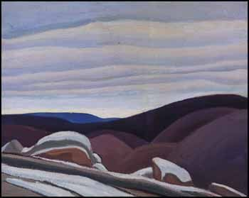 Lawren Stewart Harris Country North of Lake Superior oil on board 1925