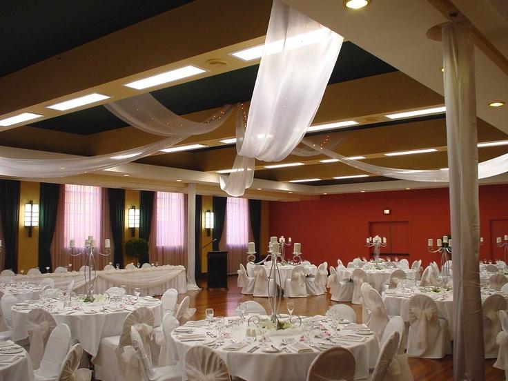 #ceilingdrapery #candelabra