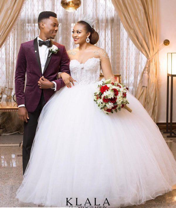 Latest Wedding Gowns In Nigeria 2020 Belmadeng In 2021 Latest Wedding Gowns Ball Gowns Wedding Wedding Gowns