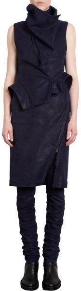 Leather High Waisted Skirt