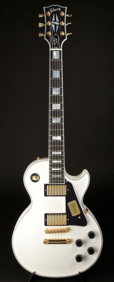 Gibson Les Paul Custom 2013 Spec Alpine White (World Guitars)
