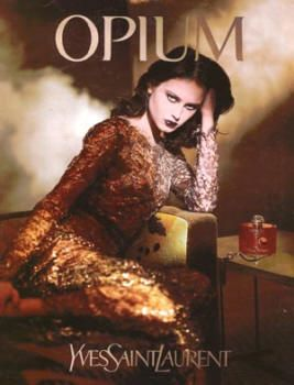 Opium (1999) by Yves Saint Laurent with Natalia Semanova