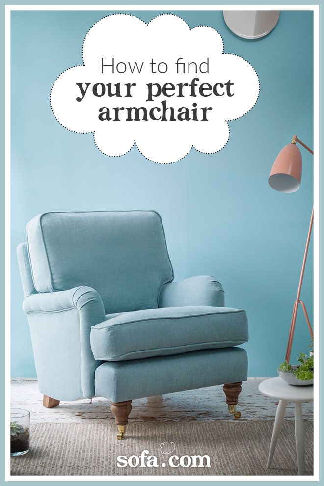 how to: choose the perfect armchair