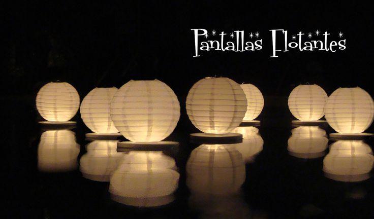Floating paper lanterns (10 pack) by GlobosDeLuz on Etsy https://www.etsy.com/listing/104524160/floating-paper-lanterns-10-pack