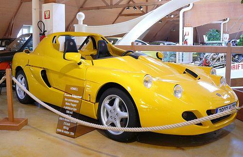 Hommell Barquette Echappement yellow 2004 vr2