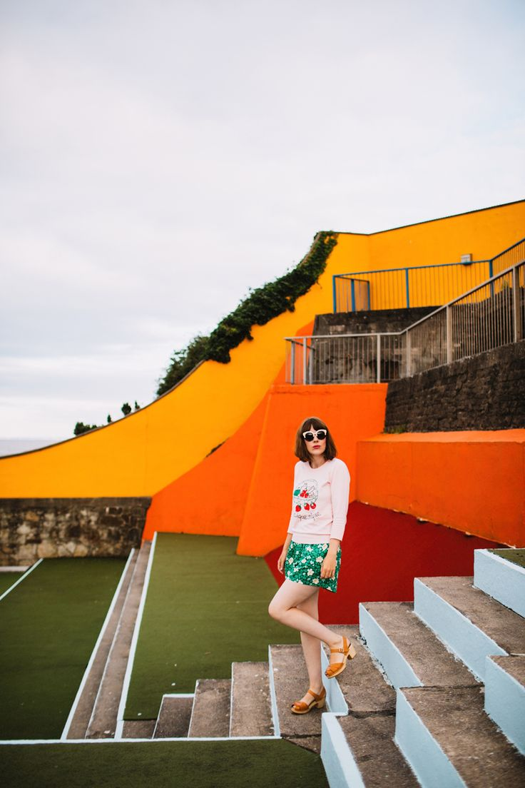 Tigerlilly Quinn: Open air swimming pools and fifties shorts - tigerlillyquinn.com