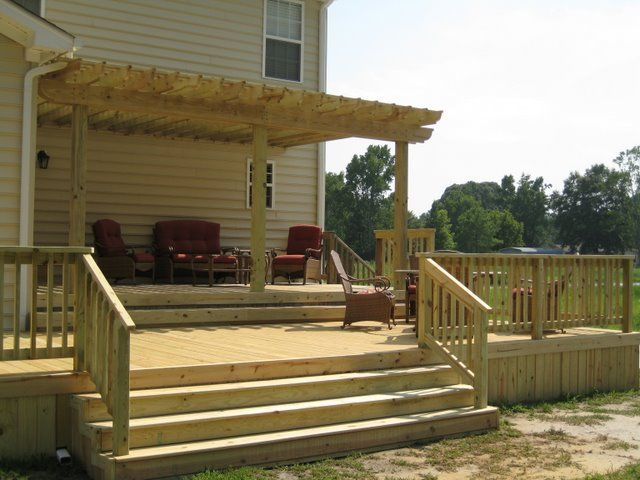 Backyard Patio Ideas The Complete Guide About Multi Level Decks With 27 Design