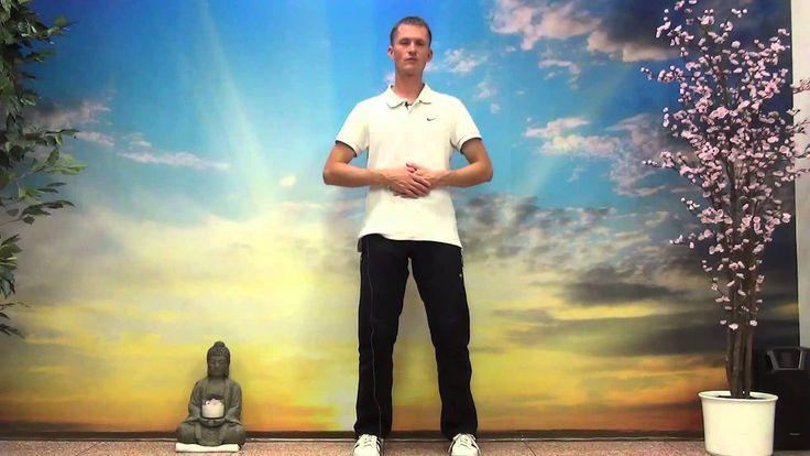 Cviky na štíhlý pas. Cvičení qi gong (chi kung) na hubnutí.