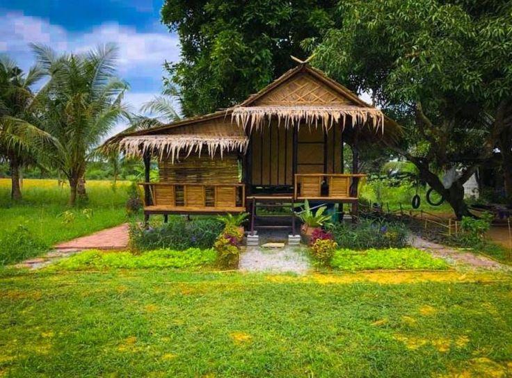 Nipa Hut Designs 30 Bamboo House Designs You Ll Love In 2021 Bamboo House Design Village House Design Bamboo House Small house design nipa hut