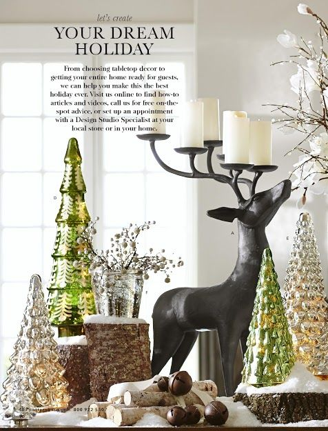 pottery barn holiday decor - Home Decor Pottery Barn