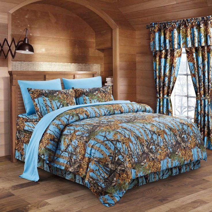 Camo Bedding Sets Comforter, Teen Camo Bedding
