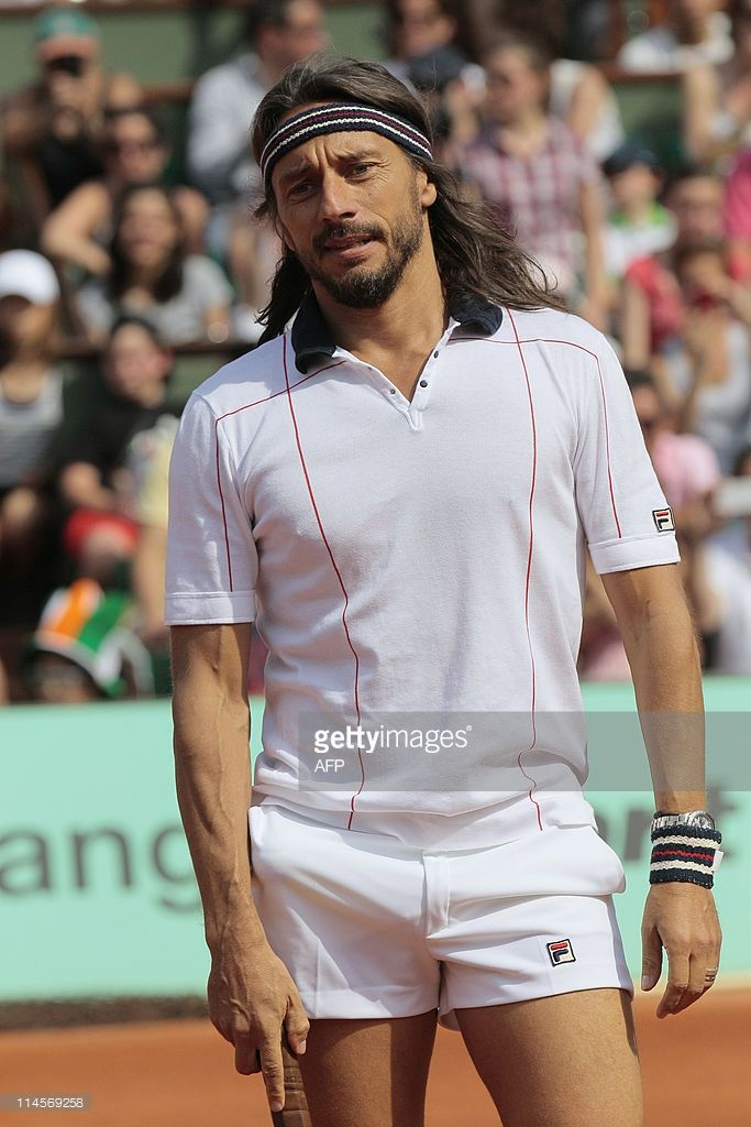 French DJ Bob Sinclar reacts during the 'Roland Garros Kid's day' on the Philippe Chatriercentral...
