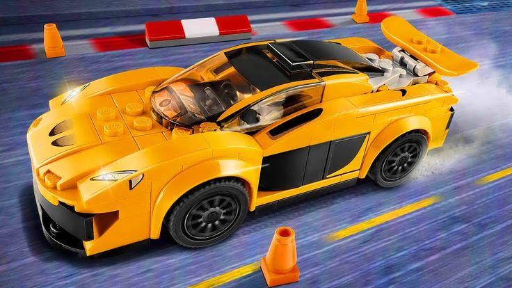 Лего Гонки Мультики про машинки Игры для Детей LEGO Speed Champions