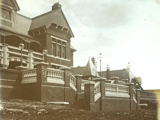 An undated image of the Sunbury Lunatic Asylum. Picture: State Library of Victoria
