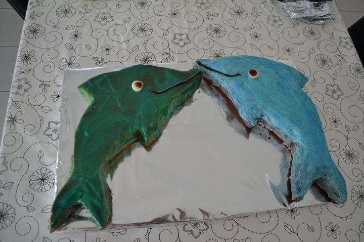 torte a forma di delfino