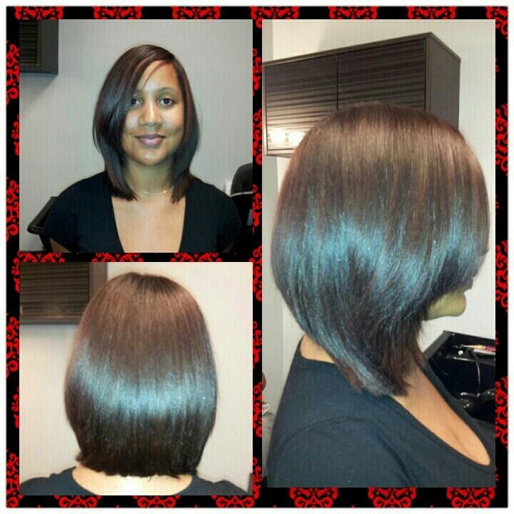 C Natural Hair Silk Press