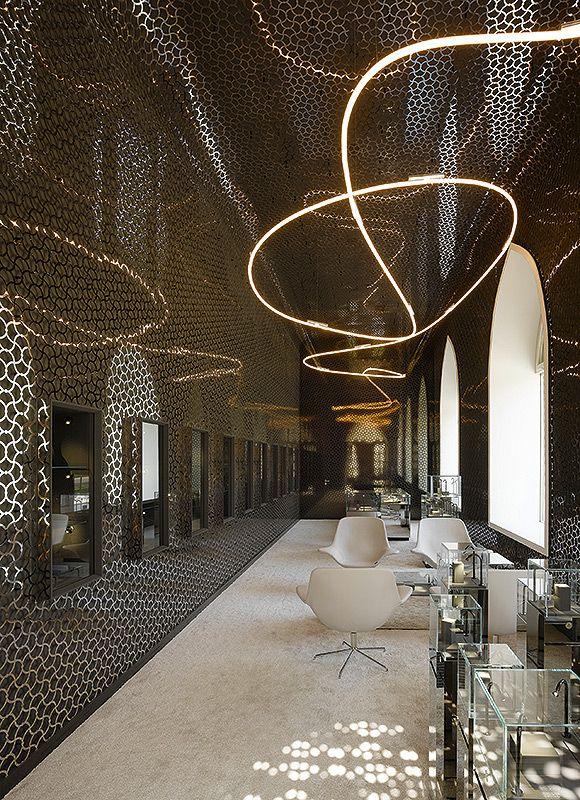Belfry Tashkent Jewellery Store, Tashkent, Uzbekistan by Ippolito Fleitz Group…