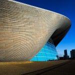 Zaha Hadid designed the London Aquatics Centre built for the 2012 Olympic Games.