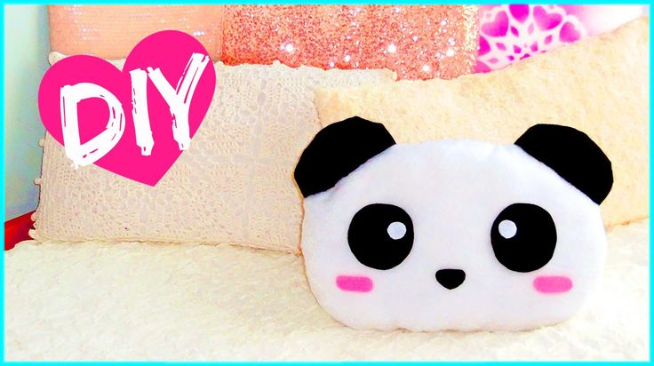 Hi guys!! Today I bring you another diy room decor idea that is super cute and can also be a lovely gift idea. To make this cute panda pillow you will need: ...