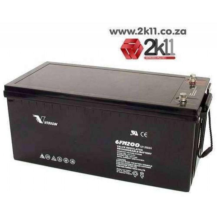 VISION Deep Cycle Battery 200Ah 12V